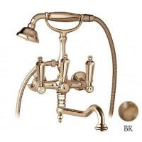 Смеситель Cezares First FIRST-VDF-02-M для ванны бронза, ручки бронза