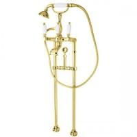 Смеситель Cezares First FIRST-VDPS-03/24-Bi для ванны золото