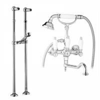Смеситель Cezares First FIRST-VDPS2-01-Bi для ванны хром