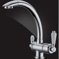 Смеситель Elghansa KITCHEN Pure Water 56A5840 для кухни (для фильтра) хром