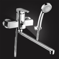 Смеситель Elghansa SCARLETT Chrome 5322225 для ванны с д/к хром