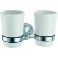 Fixsen FX-71607 держатель стакана двойной хром