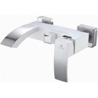 Смеситель Ganzer GZ 44032F белый для ванны