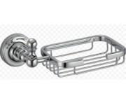 Ganzer GZ 31022 Настенная мыльница решетка хром