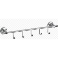 Ganzer GZ 31075 Планка с крючкамидля полотенец хром