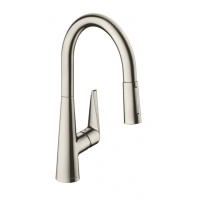 Смеситель Hansgrohe Talis S HG-72813800 для кухни никель