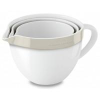 Набор керамических чаш KitchenAid KBLR03NBAC кремовый
