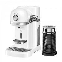 Кофемашина KitchenAid Nespresso 5KES0504EFP+ Aeroccino морозный жемчуг