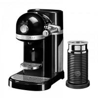 Кофемашина KitchenAid Nespresso 5KES0504EOB+ Aeroccino черный
