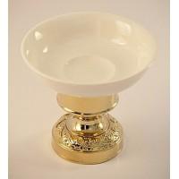 Magliezza Fiore 80108-do золото мыльница настольна