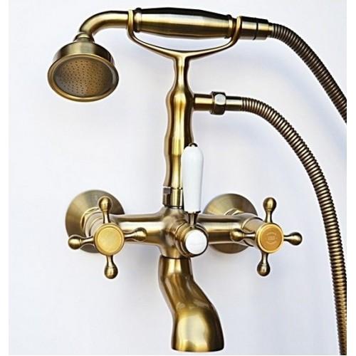 Смеситель Magliezza Classico 50106-1-br для ванны, бронза