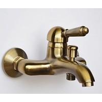 Смеситель на ванну Magliezza Collana 50130-br (бронза)
