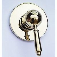 Встроенный смеситель для душа Magliezza Collana 50132-do (золото)