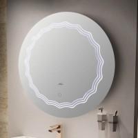 Зеркало MELANA MLN-LED085 для ванной с подсветкой