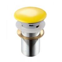 Донный клапан MELANA MLN-ТB6 желтый