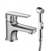 Смеситель Rossinka S35-15 для раковины с гигиеническим душем