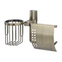 Wasserkraft Exter К-5259 держатель туалетной бумаги и освежителя, светлая бронза