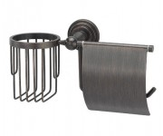 Wasserkraft Isar К-7359 держатель туалетной бумаги и освежителя, темная бронза