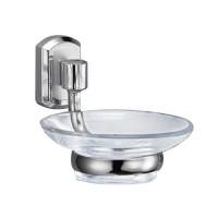 Wasserkraft Oder K-3029 мыльница стеклянная, хром