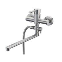 Wasserkraft Wern 4202L матовый хром, для ванны
