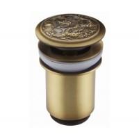 Донный клапан Zorg Antic AZR 1 BR бронза