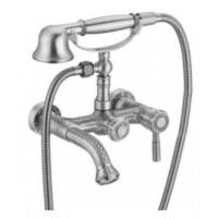 Смеситель Zorg A 200W-SL серебро для ванны