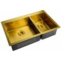Мойка Zorg ZL R 780-2-510-L Bronze