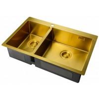Мойка Zorg ZL R 780-2-510-R Bronze